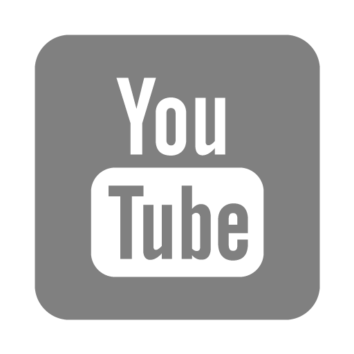 youtube icon grey